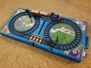 Nylint Thomas the Tank Engine Carry Case Play Set Train Cars & Engines 1992 RARE