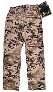 Under Armour Ridge Reaper Gore-Tex Pants Size S Mens Hunting Camo Gear