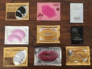 Wholesale   5-1000  Collagen Eye Pad Lip Mask Facial Mask Blackhead Remover