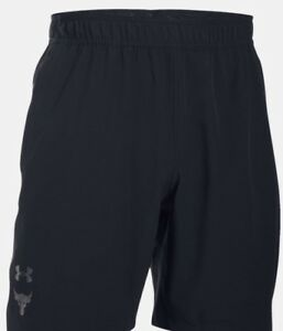 Under Armour UA X Project Rock Vortex Men's Shorts XXL Brahma Bull New
