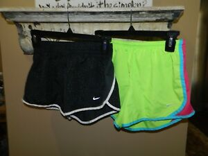 Nike Girl's Dri-Fit Tempo Running Shorts Size L Youth Lot of 2