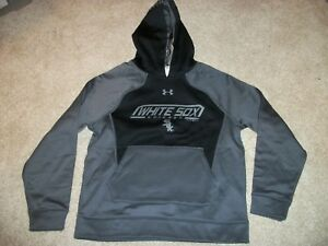 UNDER ARMOUR Chicago White Sox New NWT Boys Youth Kids Sweatshirt Hoodie Jacket