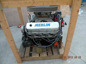 New Bullet Engines Merlin 750 Hp Aspirated --New in Box