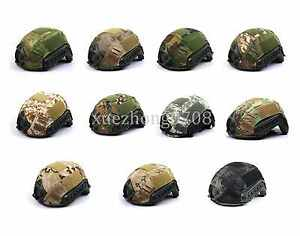 TACTICAL AIRSOFT PAINTBALL MILITARY GEAR FAST HELMET COVER MULTI COLORS