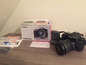 Canon EOS 50D LOW SHUTTER COUNT (Kit w EF-S IS 28-135mm Lens)