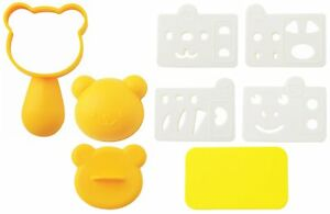 Onigiri Rice Ball Mold Sets Bears and friend Bento Lunch Box Accessories A-76710