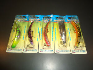 LOT OF 5 K12 KWIKFISH FISHING LURES NEW tough COLORS
