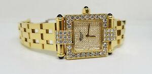 $70k CHOPARD IMPERIALE 18K solid GOLD factory DIAMOND box WATCH ladies 118g