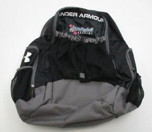 UNDER ARMOUR #C74 Women's SPORT Travel Carry On BlackGray Backpack