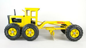 Vintage Tonka Road Grader Model Construction Vehicle Toy Machinery