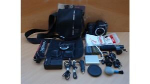 Canon EOS 50D DS126211 15.1MP + Filters Lexar Vivitar Digital SLR Camera EXTRAS!