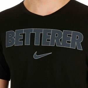 NWT Nike Federer RF Betterer V-Neck Tennis Tee Shirt 619003-010 Nadal Medium XXL