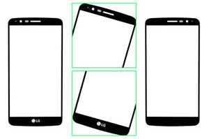 New LG Outer Front Screen Glass Replacement for Stylo 3 LS777