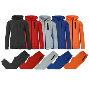 Men#x27;s Slim Fitting French Terry Hoodie amp; Jogger 2 Piece Set S M L XL 2XL NEW $27.99