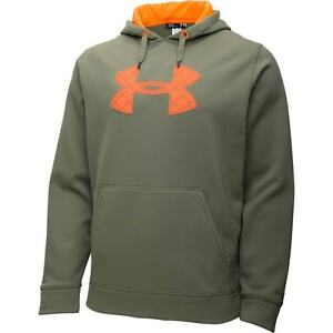 Under Armour CG STORM Caliber Hoodie Thyme Green 1253663-002 TALL XLT New