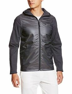 Mens Under Armour Supervent Fullzip Hoodie Black X-Large