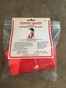 THE ORIGINAL TUMMY SAVER PROTECTIVE VEST FOR DOG Pointer Specialties X-large USA