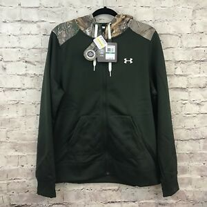 Under Armour Women Size L Fitted Zip Up Hoodie Sweatshirt NWT $84.99