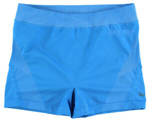 Nike Womens Pro Hypercool Limitless Three Inch Training Shorts Light Blue