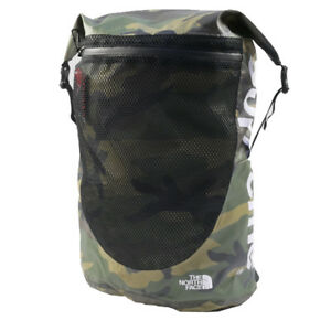 SUPREME  THE NORTH FACE 17SS Waterproof Backpack KAHKI FREE