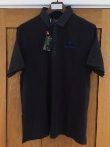 Godolphin Under Armour Polo Shirt - Large Navy Original new with Tags - RARE!