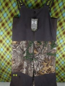 New Fleece Camo Under Armour Snow Pants Youth XL Hunting Paintball Realtree