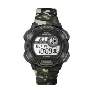 Timex Expedition Base Shock Green Camouflage NEW in box