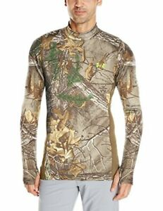 Under Armour Mens ColdGear Infrared SC TEVO Mock Jacket Realtree AP-Xtra