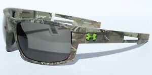 UNDER ARMOUR Captain Sunglasses Realtree CamoGray Hunting NEW $100