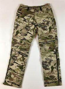 Under Armour UA Men's Ridge Reaper 2 in 1 Storm Trousers Pants Camo New 3432