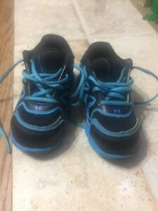 Under Armour Spine Toddler Size 5 Shoe Running Tennis Lot 26 Boy Girl No Insoles
