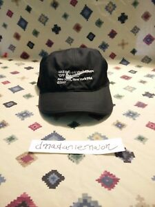 Nike x Off White Off Campus Hat CO Virgil Abloh Dri Fit Cap NYC Exclusive