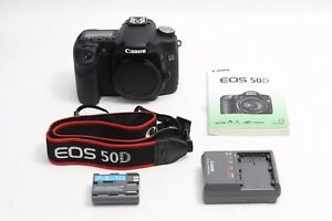 Canon EOS 50D 15.1 MP Digital SLR Camera - EXCELLENT SUPER LOW Shutter Counts