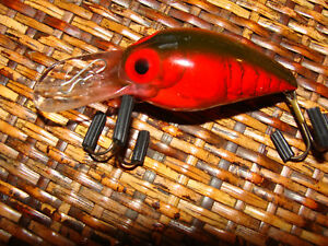 NEVER FISHED  STORM  Pre Rapala  WIGGLE WART  WW05-209 NATURISTIC RED CRAYFISH