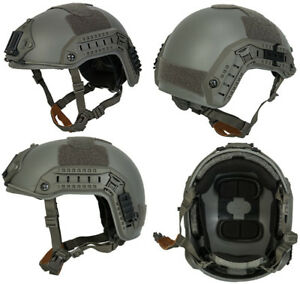 Maritime FAST Tactical Advanced Helmet LXL with Accessories in Foliage Green