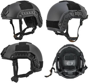 Maritime FAST Tactical Advanced Helmet LXL with NVG Accessories in Black
