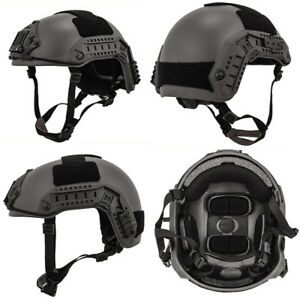 Maritime FAST Tactical Advanced Helmet ML with Accessories in Gray Ghost