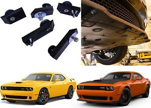 Front Chin Splitter Guard Washers For Dodge Challenger Hellcat New Free Shipping