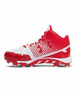 UNDER ARMOUR 1274407-611 Baseball  Spine Heater Mid TPU Jr. YOUTH Shoe Size 5Y