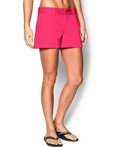 Under Armour Womens Inlet Shorts Harmony Red Shorts