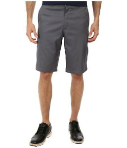 Men's Nike Golf Dri-Fit Flat Front Shorts NEW Grey (639798-021)  MSRP $68