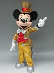 Tokyo Disney Resort 30th Anniversary Mickey mouse Action Figure Doll Fan double