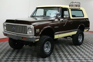 1971 Chevrolet Blazer K5 RESTORED 4X4 AUTO PS PB CALL 1-877-422-2940! FINANCING! WORLD WIDE SHIPPING. CONSIGNMENT. TRADES. FORD