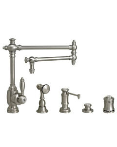 Waterstone 4100-18-4-WC Towson Kitchen Faucet - 18
