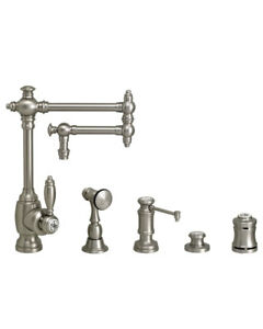 Waterstone 4100-12-4-WC Towson Kitchen Faucet - 12