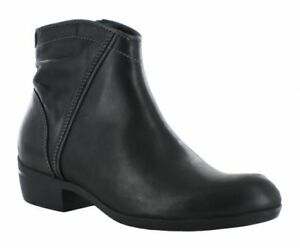 New in Box Wolky Womens WINCHESTER Black Leather Ankle Boots 95250002