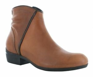 New in Box Wolky Womens WINCHESTER Cognac Leather Ankle Boots 95250430