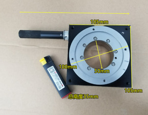 1pc NEWPORT M URM100MS Rotation Angle Goniometer Stage Table 105*105mm $499.00