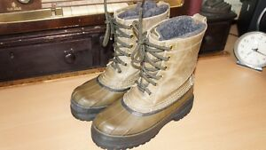 VINTAGE LL BEAN MAINE HUNTING SHOE 6 EYE LINED PAC BOOTS WOMEN'S Sz 5 M NICE!