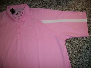 UNDER ARMOUR New NWT Mens Polo Shirt Pink Loose Fit XL 2XL XXL